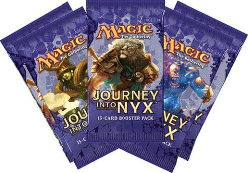 Journey into Nyx MTG MAGIC English 5x Booster Pack Viaggio verso Nyx