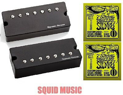 Seymour Duncan Nazgul /& Sentient 7 String Soapbar Black Set 2 STRING SETS