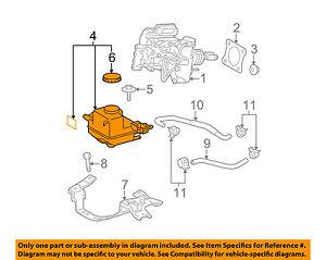 s l300 toyota oem 10 15 prius brake master cylinder reservoir 4722047080 ebay