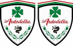 Alfa-Romeo-Autodelta-Clover-Leaf-wing-Decals-Stickers-GIULIA-QUADRIFOGLIO-SPIDER
