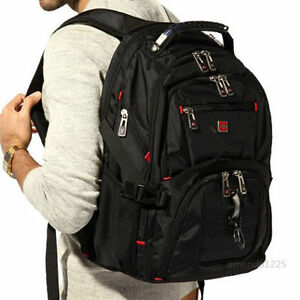 Image Is Loading Swiss Gear Waterproof Travel Bag Laptop Backpack Computer