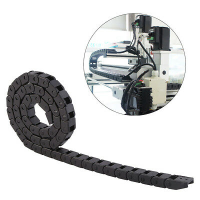 1m 10 x 10mm Nylon Chain Drag Wire Towline Carrier Cable Track CNC Tool