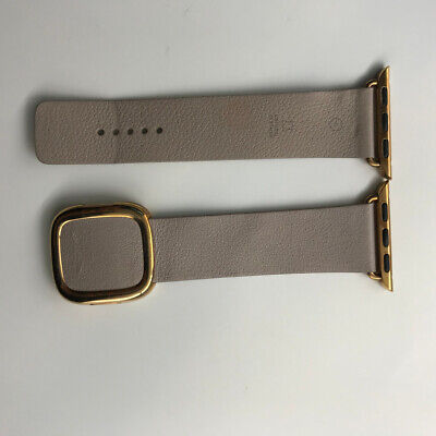 Original Apple Watch Gold Modern Buckle Leather Band 38mm 40mm Rose Gray Strap Ebay