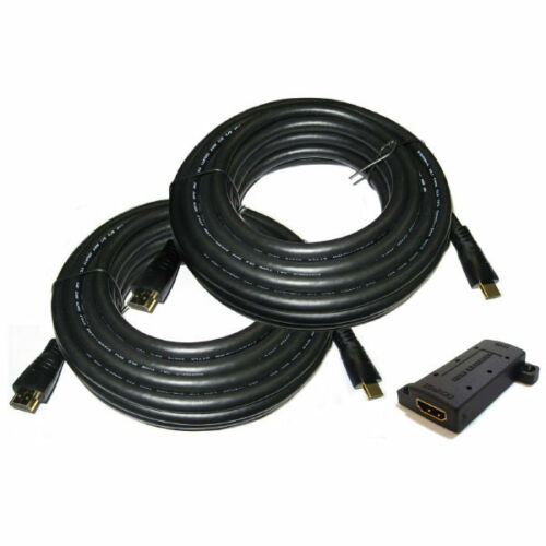 HDMI cable Kit With Extender 100 feet NEW