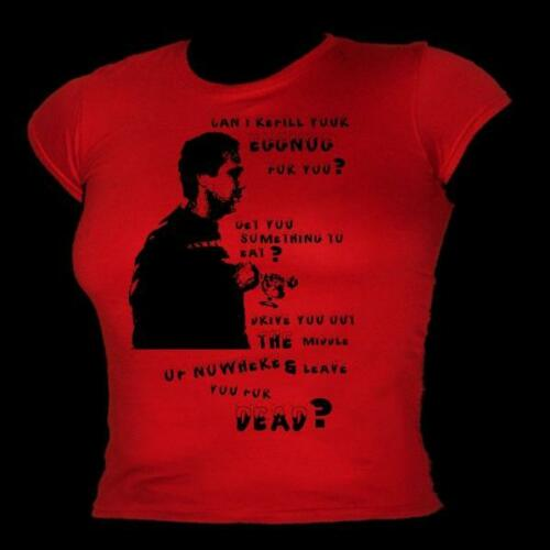 """Christmas Vacation Clark /& Eddie /""""leave you for dead/"""" film quote Mens T-shirt"""