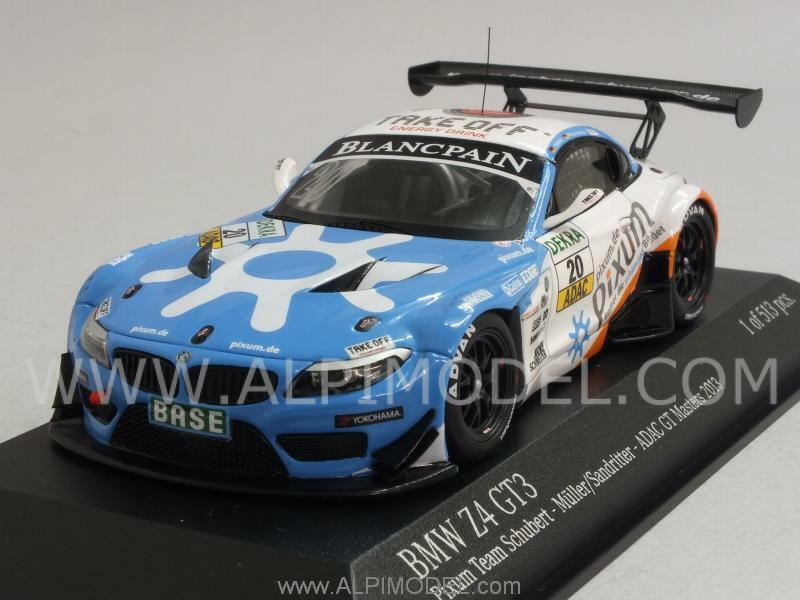 BMW Z4 GT3 Pixum Team Schubert ADAC GT Masters 201 1 43 MINICHAMPS 437132420