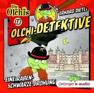ERHARD-DIETL-OLCHI-DETEKTIVE-18-EINE-RABENSCHWARZE-DROHUNG-CD-NEW