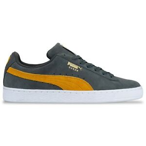 Details about Puma Suede Classic Trainers Puma suede classic in Iron GateBuckthorn Brown