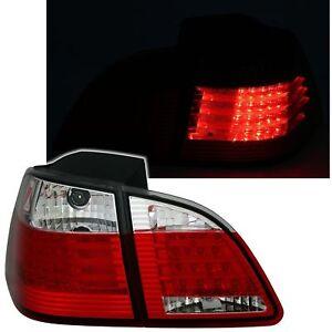 LED FAROS TRASEROS set en rojo blanco para 5er bmw e39 sedán luces traseras