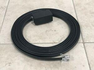 Yaesu-FTM-100DR-FTM-350R-AR-FTM-400DR-XDR-Microphone-Extension-Cable-Black