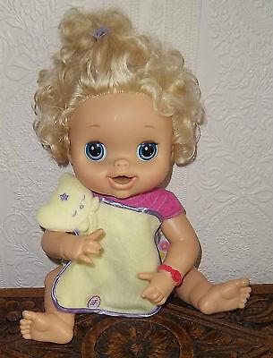 Adorable Baby Alive Coperta, Piumone. Hasbro. Bambola Non Inclusa.-mostra Il Titolo Originale