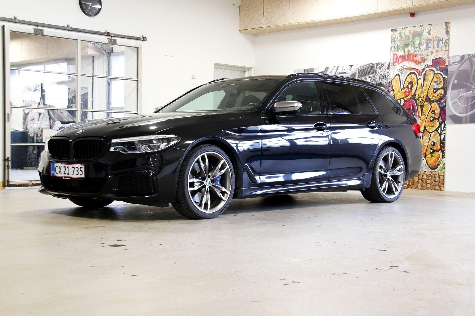 BMW M550d 3,0 Touring xDrive aut. 5d - 5.999 kr.