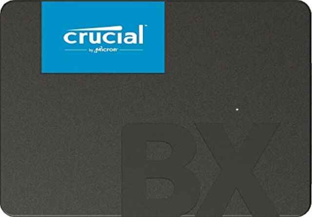 "Crucial 240GB SSD BX500 2.5"" 540MB/s lesen 500MB/s W Solid-State-Laufwerk tbs GR"