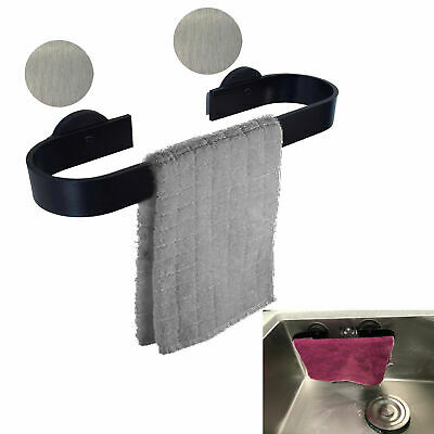 Magnetic Towel Bar Towel Rail Drying Rack For Kitchen Sink Bathroom Refrigerator Ebay