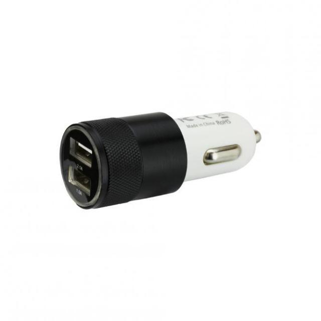 KFZ Ladeadapter 2x Dual USB Port 2100mA 12V 24V Ladegerät für iPhone 7 Galaxy S8