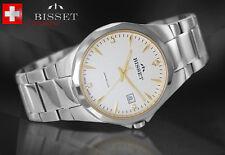 BISSET BSDD62 HARD SAPPHIRE GLASS SWISS MADE   Herrenuhr Swiss Made Armbanduhr