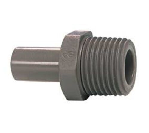 "10 x Speedfit 1//2/"" x 3//8/"" BSPT male stem adaptors John Guest spigot adapter"
