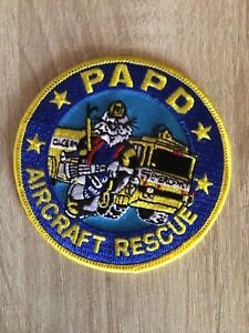 NYPD PAPD Port Authority Police Aircraft Rescue  Patch