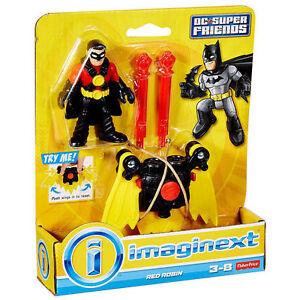 New Imaginext Dc Comics Super Friends Batman Partner Red