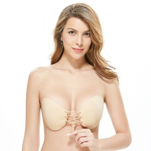 Skin Magic Silicone Bra  Push-up Stick on Bra for special occasion Size B/&C