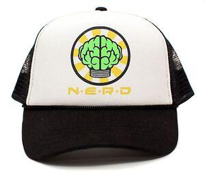 New-Custom-N-E-R-D-Neptunes-Snapback-Trucker-Hat-Cap-Pharrell-Hugo-Music-NERD