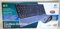 Logitech Cordless Desktop S520 Wireless Keyboard And Laser Mouse Spanish Version