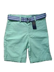 Ralph-Lauren-Polo-Boy-Belted-Chino-Shorts-Green-SP-323703113008-Size-8-NWT-45