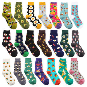 Women-Mens-Socks-Funny-Colorful-Happy-Business-Party-Cotton-Comfortable-Socks