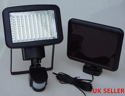 PIR luce esterno giardino 120 LED energia solare ricaricabile sensore mov