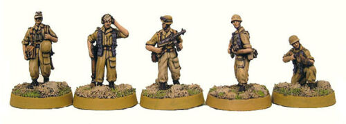 TQD GFM2 20mm Diecast WWII German Mediterranean .jager Command with Radioman