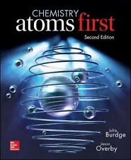 Chemistry: Atoms First by Julia R. Burdge LOOSE LEAF Free Ship