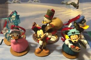 Disney-Christmas-Carol-Custom-Ornaments-Set-Of-6