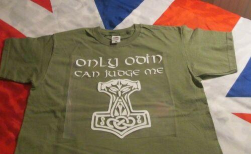 T Shirt Mjolnir Viking Hammer Design Mjolnir Only Odin Can Judge Me