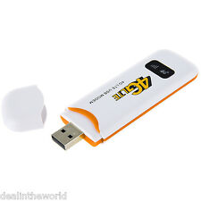 4G LTE USB Dongle USB Stick Data-card Mobile Broadband 100Mbps Modem White