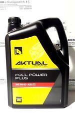 OFFERTA 5 LITRI OLIO MOTORE 5W-40 AKTUAL MOTOR OIL FULL POWER PLUS PETRONAS