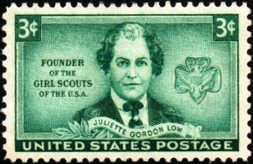 1948 3c Juliette Gordon Low, Founder of the Girl Scouts
