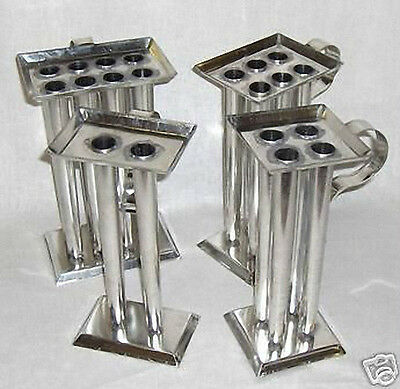6 TUBE TAPER Metal Candle Mold (10 inch Tapers)