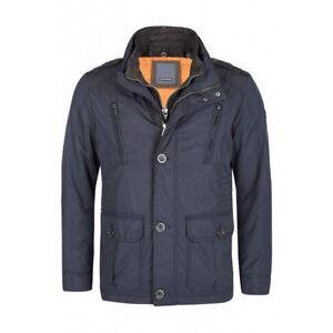 Mens Details Cotton Title Jacket Dark Blue6083Show Original From In Coated About Calamar sQCxthrd