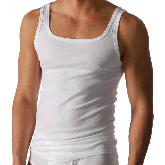 3 x Mey Noblesse Unterhemd  Sport-Jacke  2800  Gr. 5 / M    Farbe: weiß