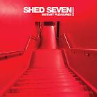 Shed 7 Seven Instant Pleasures Hand Signed Autographed LP Album Vinyl 2017