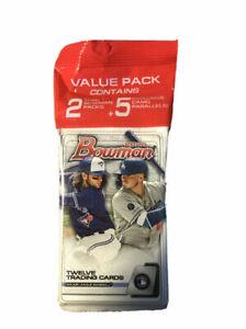 2020-Topps-Bowman-Baseball-Value-Hanger-Cello-Pack-New-Sealed