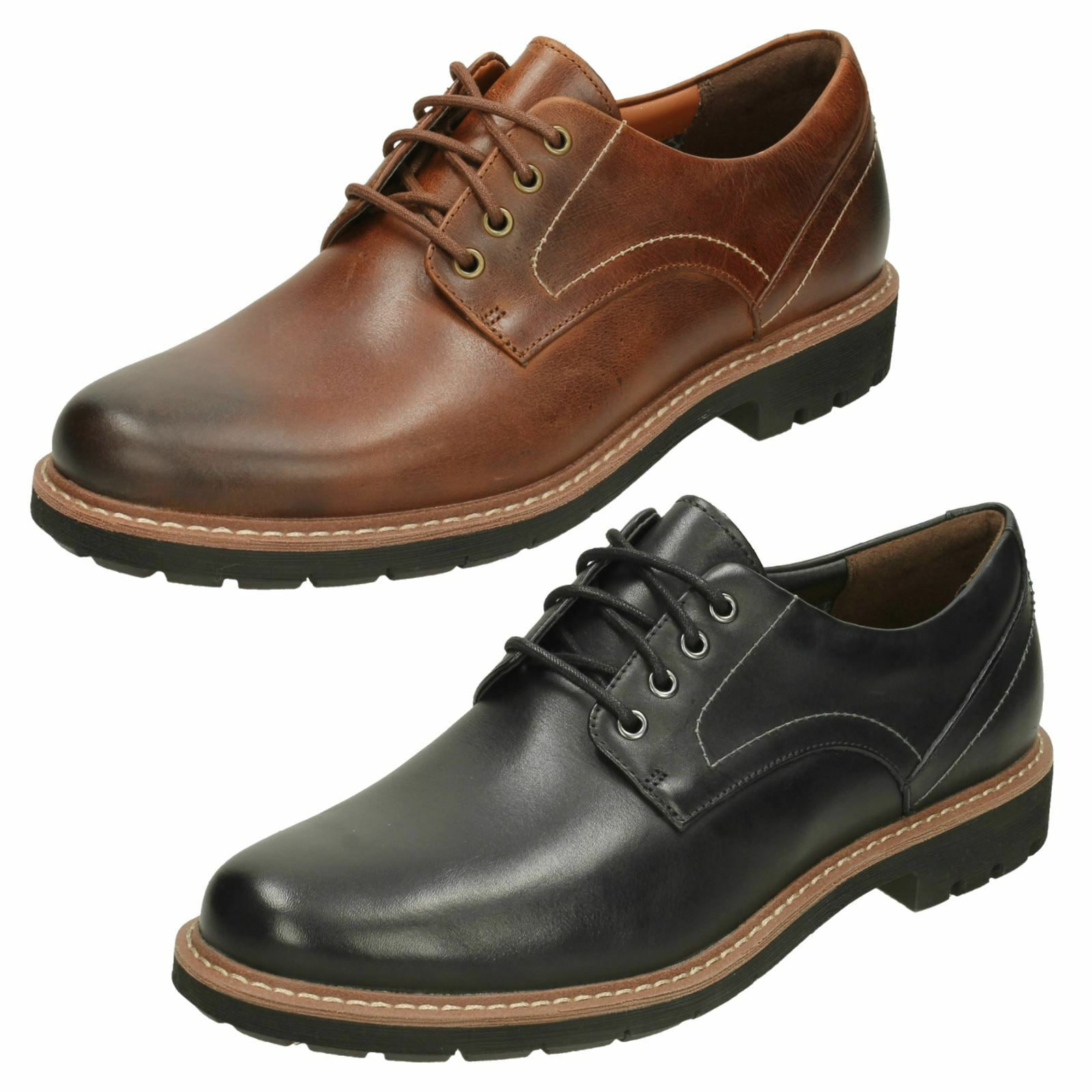 Uomo Clarks Smart Schuhes Batcombe Hall