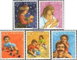 Schweiz-1359-1363-kompl-Ausgabe-postfrisch-1987-Pro-Juventute
