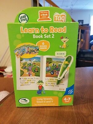 Volume 2 works with Tag LeapFrog LeapReader Learn to Read