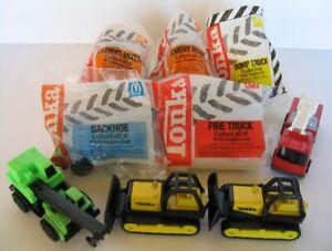 McDonald/'s Happy Meal Toy Tonka Backhoe