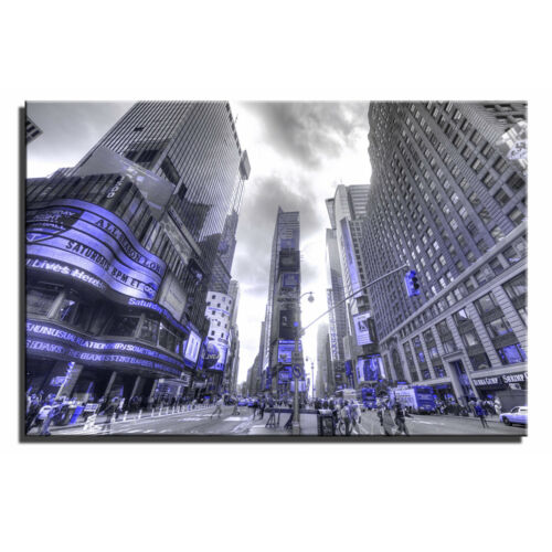 New York Time Square Single Canvas Wall Art Picture Print 9