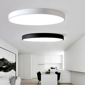 Details about Modern LED Ceiling Down Light Mount Fixture Lamp Bedroom  Lighting Recessed
