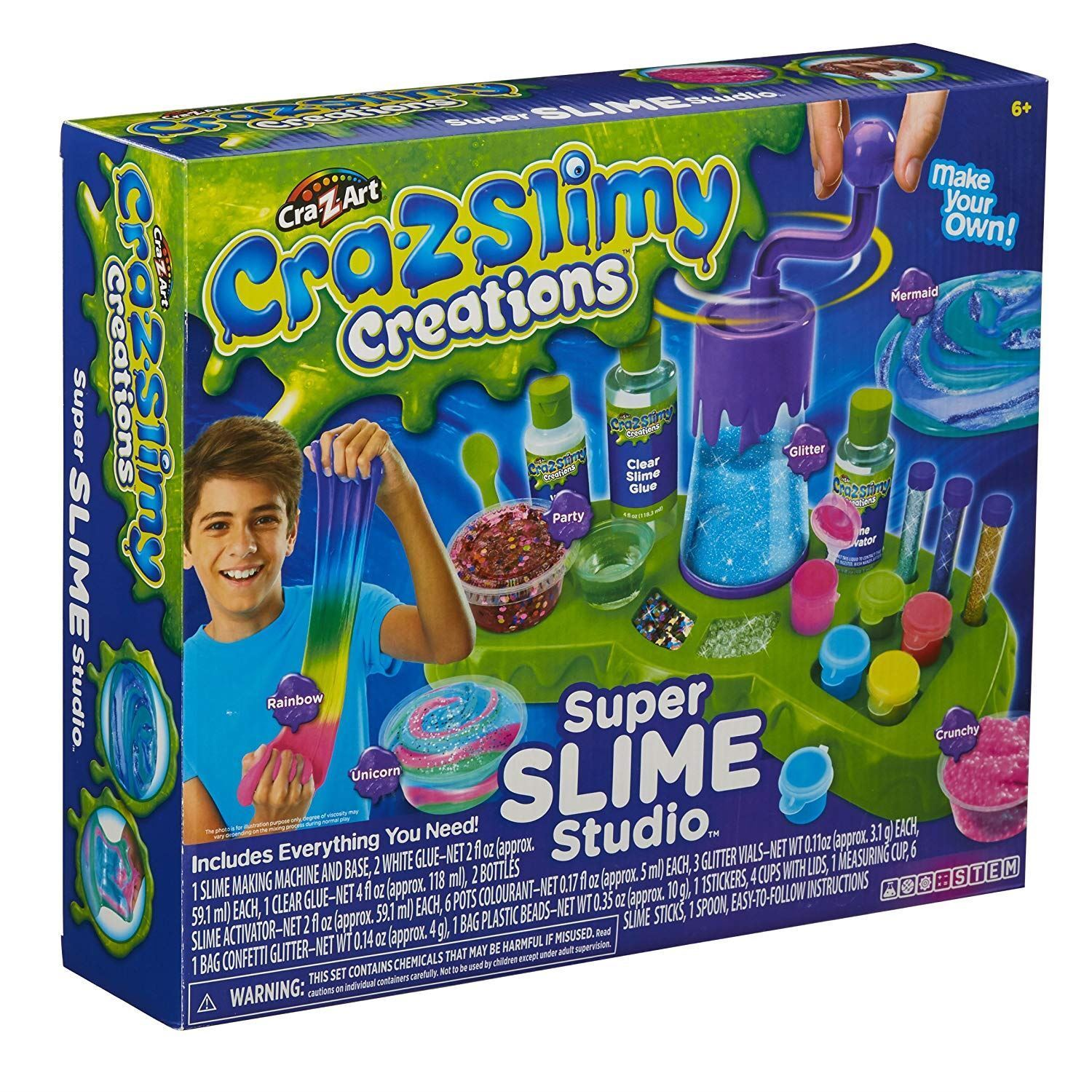 Cra-Z-Slimy 18865 Super Slimy Studio
