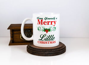Merry little christmas coffee mug christmas gift holiday gift image is loading merry little christmas coffee mug christmas gift holiday solutioingenieria Images