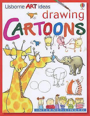 Very Good Milbourne, Anna, Drawing Cartoons (Usborne Art Ideas), Paperback, Book
